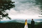 hipster mountain wedding