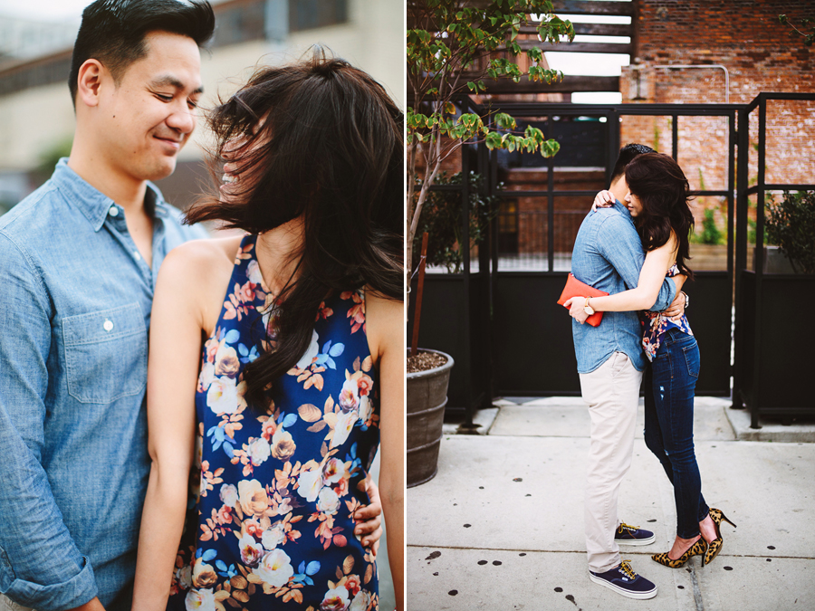 2 nycjcrewelopement Jen and Phung . Stylish J. Crew Inspired Brooklyn Elopement