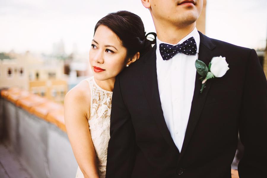 Jen and Phung . Stylish J. Crew Inspired Brooklyn Elopement » Pat ...