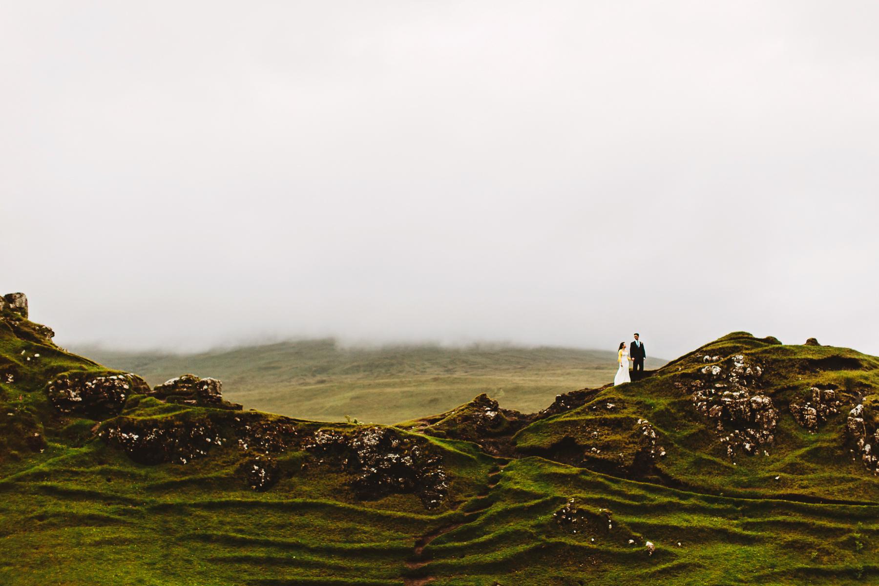 isle of skye elopement photography