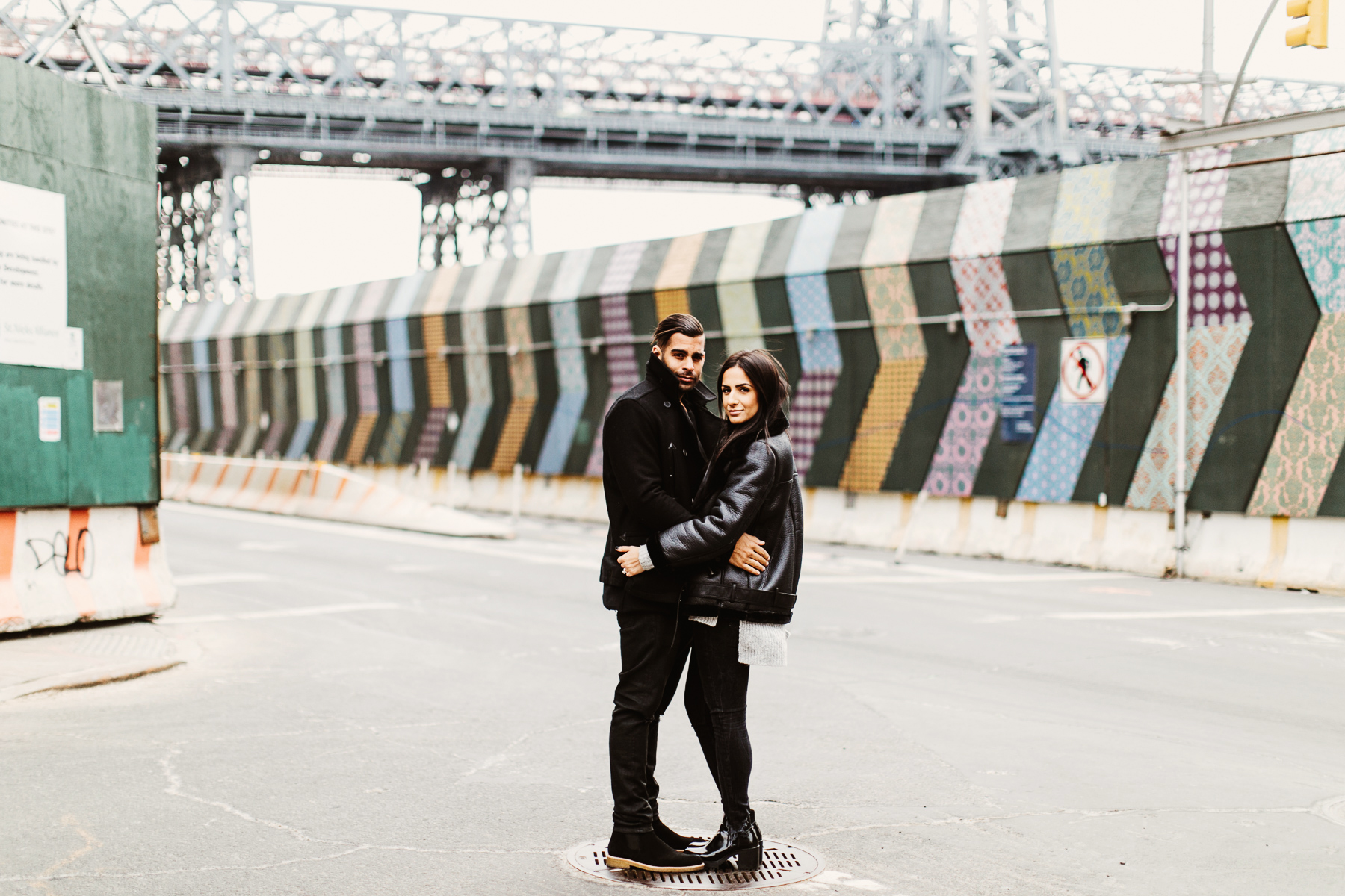 Editorially Inspired Brooklyn Engagement
