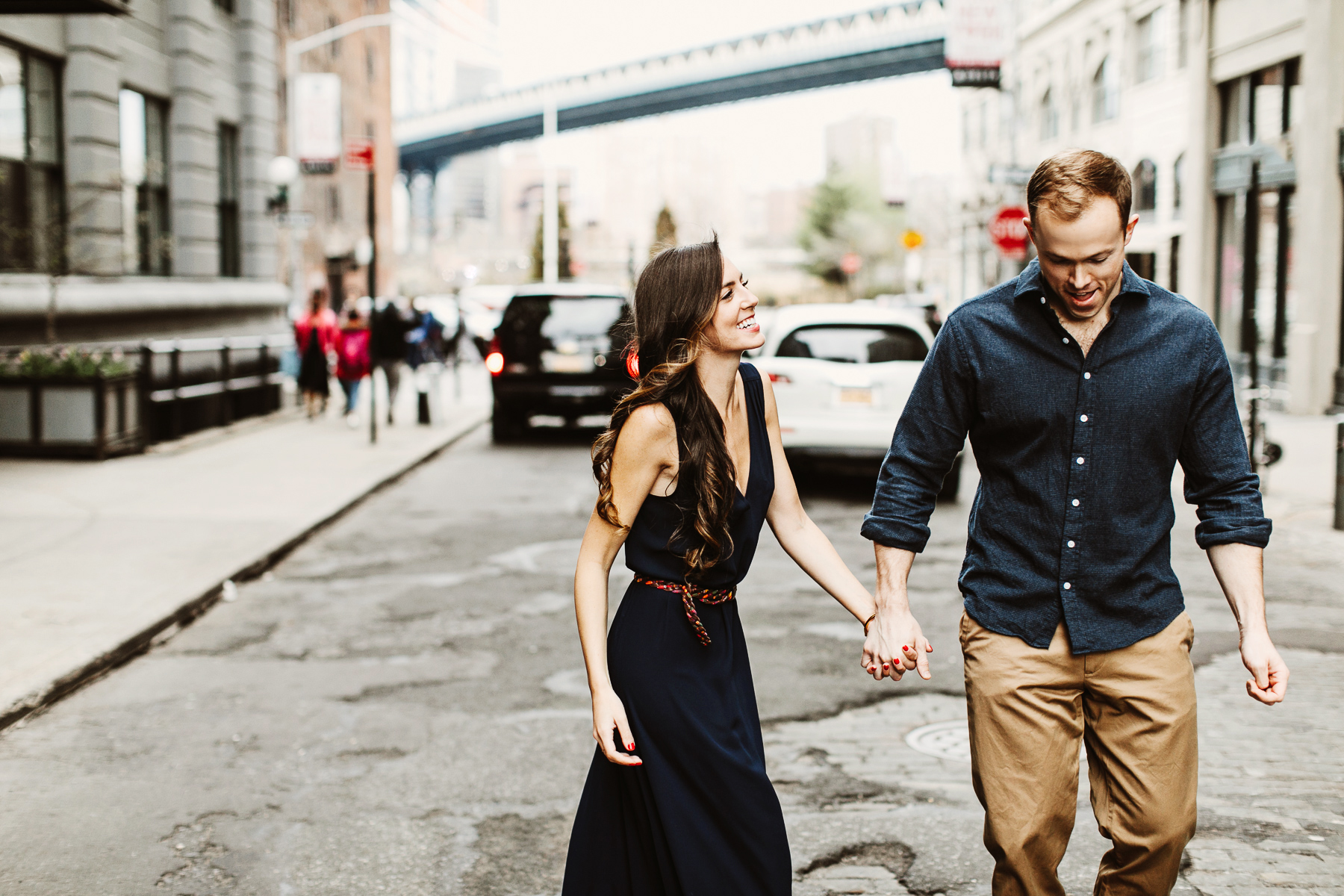 Stylish Brooklyn Engagement