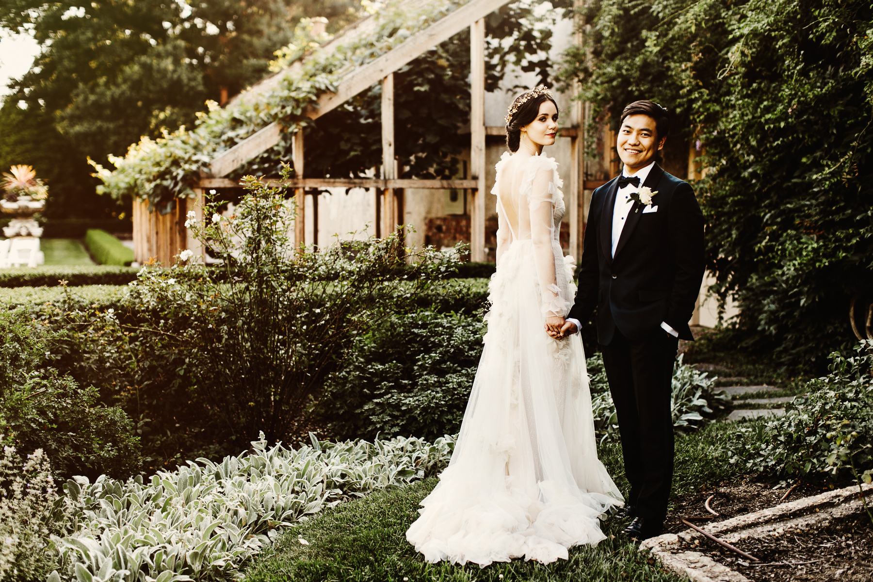 French Garden Wedding . Andalusia Wedding Photography » Pat Furey ...