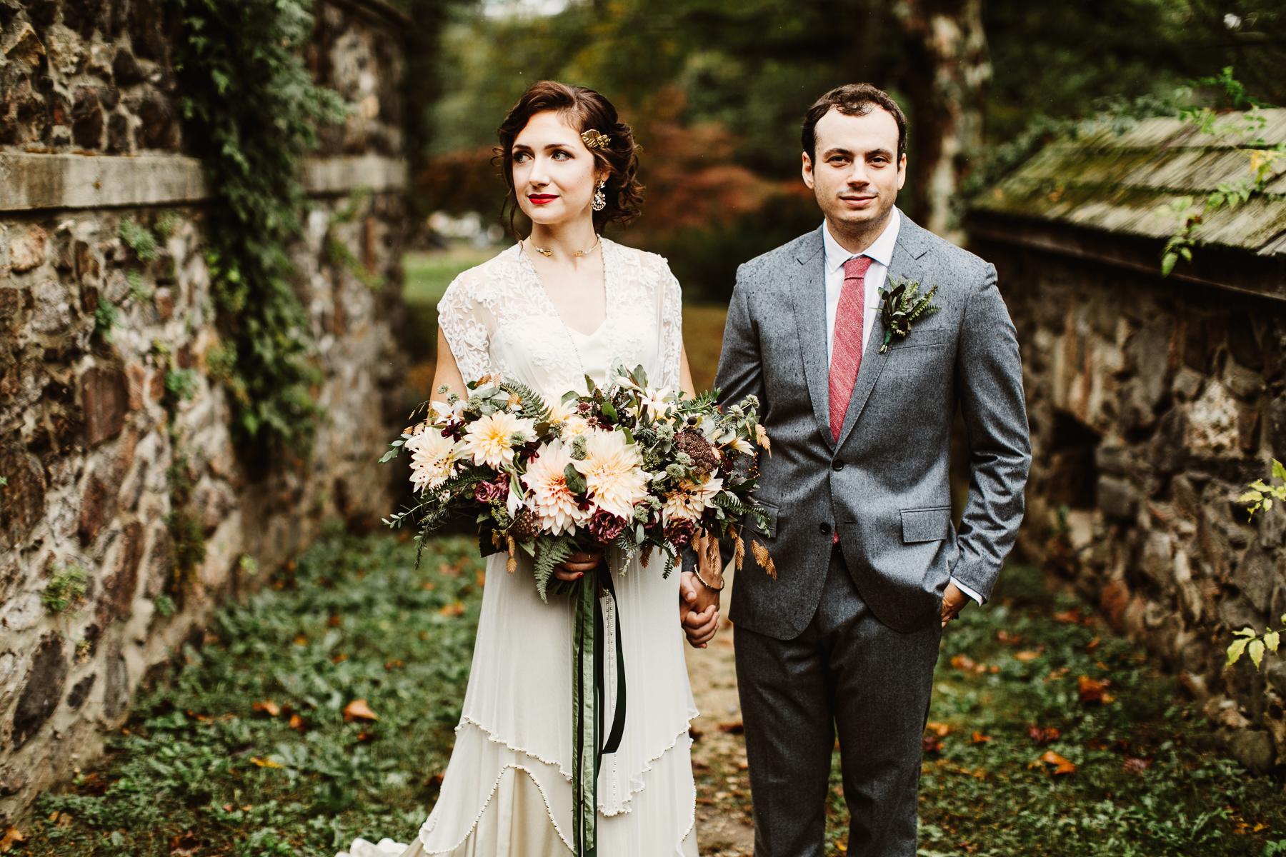 Stylish Garden Wedding