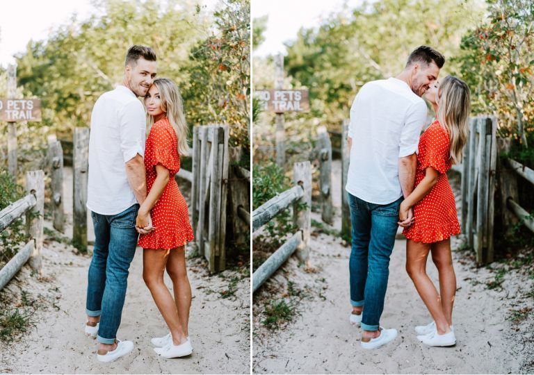 Editorial Beach Engagement Shoot