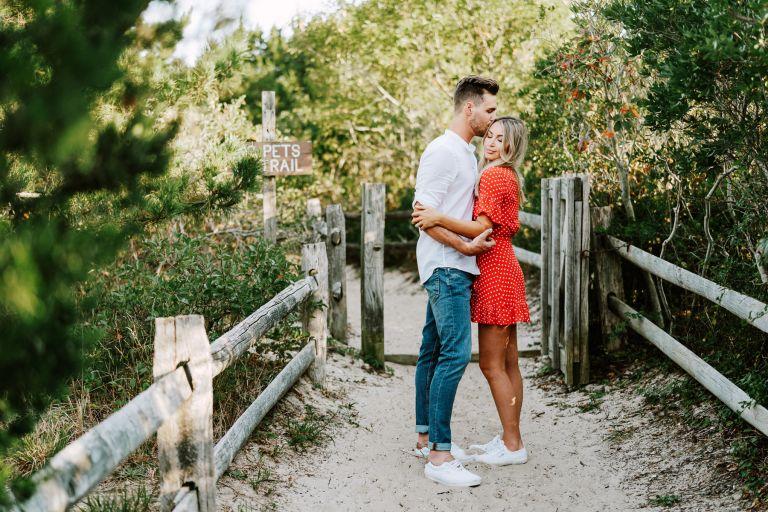 Editorial Beach Engagement Shoot